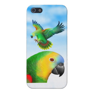 Blue Fronted Amazon Parrots iPhone Case