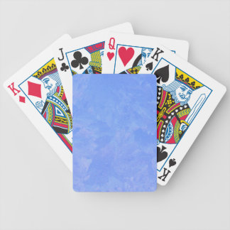 Blue Frost Bicycle Playing Cards