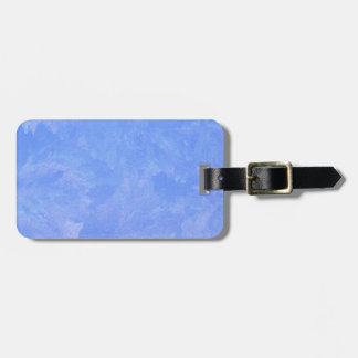 Blue Frost Luggage Tag