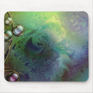 Blue frost mouse pad