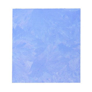 Blue Frost Notepad
