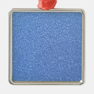 Blue Frozen Surface Ice Crystal Background Christmas Tree Ornaments