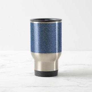 Blue Frozen Surface Ice Crystal Background Coffee Mugs