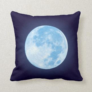 Blue Full Moon Cushion