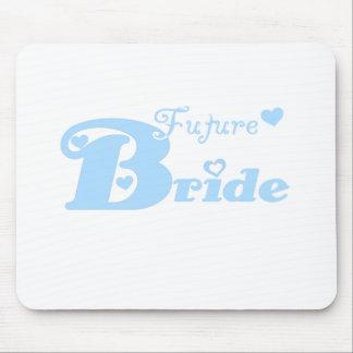 Blue Future Bride Mouse Pad