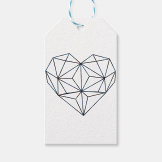 blue-galaky-geo-heart gift tags