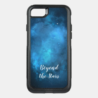 Blue Galaxy Beyond the Stars OtterBox Commuter iPhone 8/7 Case