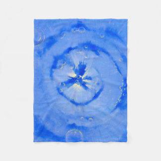 Blue Galaxy Fleece Blanket