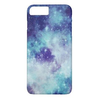 Blue galaxy iPhone 7 plus case