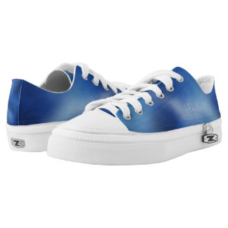 Blue Galaxy Low Tops