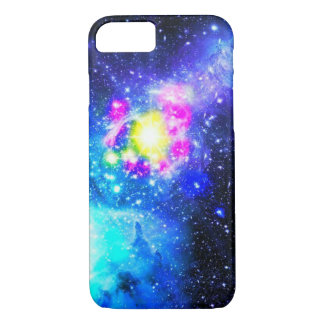 Blue Galaxy Nebula iPhone Case