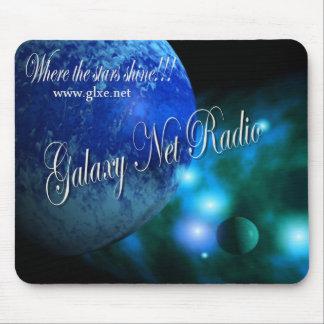 Blue Galaxy Net Radio Mousepad
