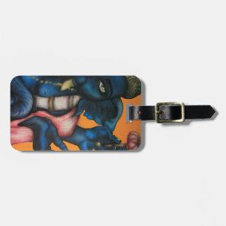 Blue Ganesha Luggage Tag
