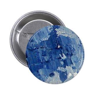 Blue Gem Stones Pinback Button