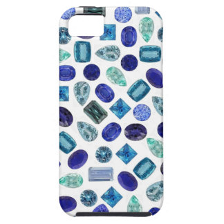 Blue Gems iPhone 5 Cas Case For The iPhone 5