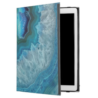 "Blue Geode Rock Mineral Agate Crystal Image iPad Pro 12.9"" Case"