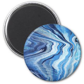 Blue Geode Sparkle Magnet