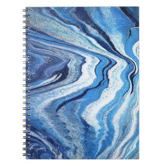 Blue Geode Sparkle Notebook