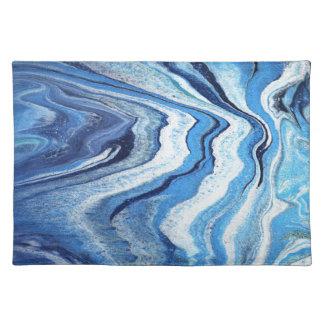 Blue Geode Sparkle Placemat