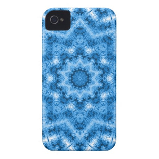 Blue Geometric Star Blackberry Bold 9700/9780 Case Case-Mate Blackberry Case