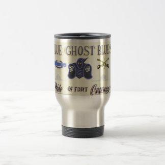 Blue Ghost Blues sign mug