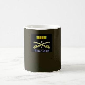 Blue Ghost Crossed Sabers Basic White Mug
