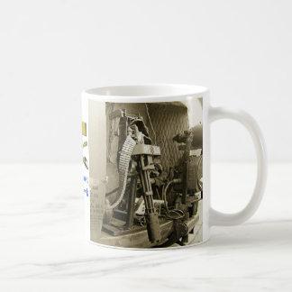 Blue Ghost Nighthawk Coffee Mug