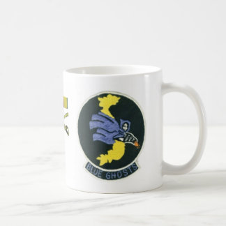 Blue Ghost original patch mug
