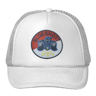 Blue Ghost troop Trucker Hats