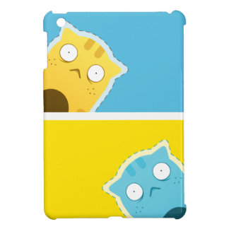 Blue Ginger Cat iPad Mini Case