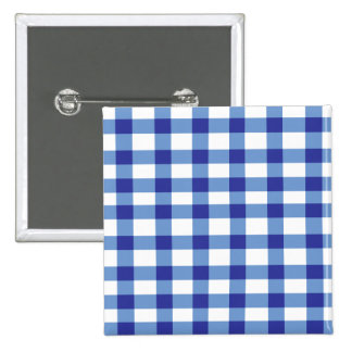 Blue Gingham Pins