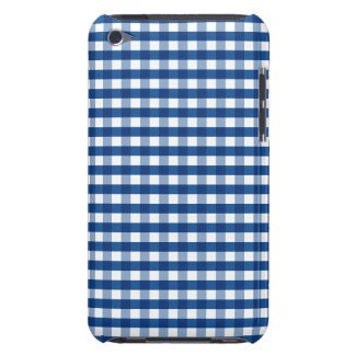 Blue Gingham iPod Case-Mate Case