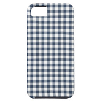 Blue Gingham Case For iPhone 5/5S