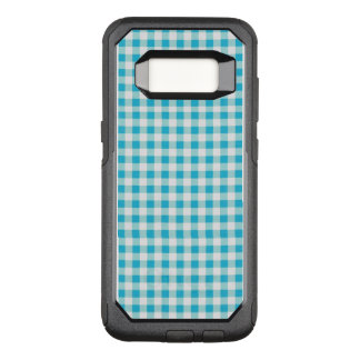 Blue-Gingham-Checks-Unisex-Apple_Samsung OtterBox Commuter Samsung Galaxy S8 Case