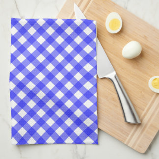 Blue Gingham Hand Towel