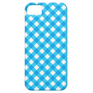 Blue Gingham iPhone 5 Covers