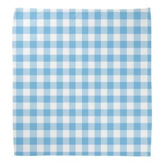 Blue Gingham Kerchief