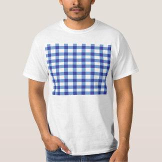 Blue Gingham T-Shirt