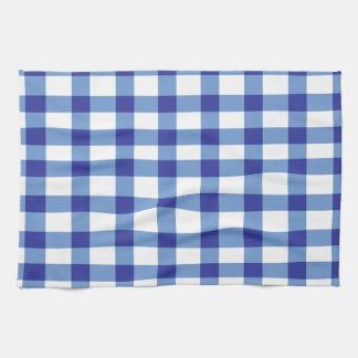 Blue Gingham Kitchen Towel