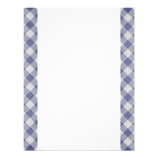 Blue Gingham Two-Sided Paper Full Color Flyer