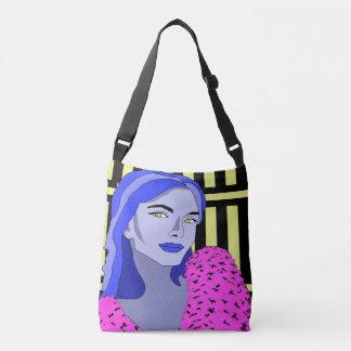 Blue Girl Crossbody Bag