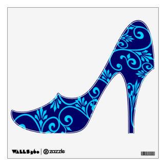Blue girly high heel elegant