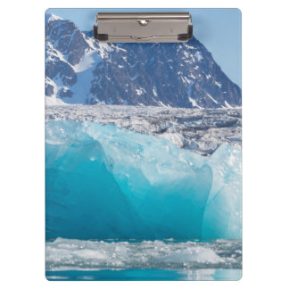 Blue glaceir ice, Norway Clipboard