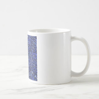 Blue Glass Abstract Coffee Mug