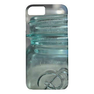 Blue Glass Jar iPhone 7 Case