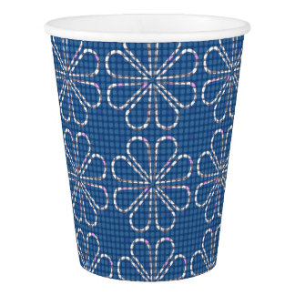 Blue Glasses Paper Cup