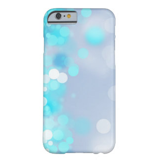 blue glitter barely there iPhone 6 case