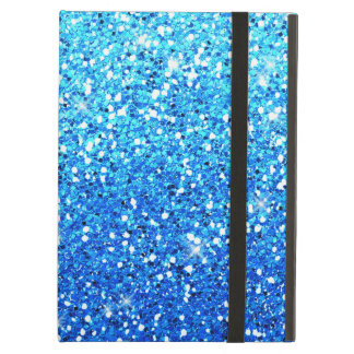 Blue Glitters Sparkles Texture iPad Air Cover