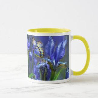 Blue Goddess Iris Mug