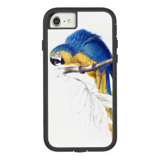 Blue Gold Macaw Parrot Bird iPhone 7 8 Case